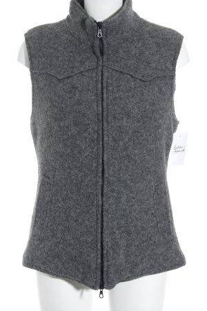 Mason's Gilet réversible gris foncé style décontracté