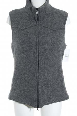 Mason's Chaleco reversible gris oscuro look casual