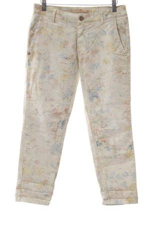 Masons 3/4-jeans bloemen patroon casual uitstraling
