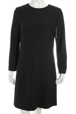 Massimo Dutti A-Linien Kleid schwarz Elegant
