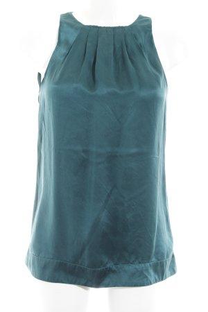 Massimo Dutti ärmellose Bluse waldgrün Elegant