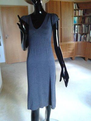 Massimo Dutti anthrazitfarbenes Sommerkleid in schönen Materialien, gr.S