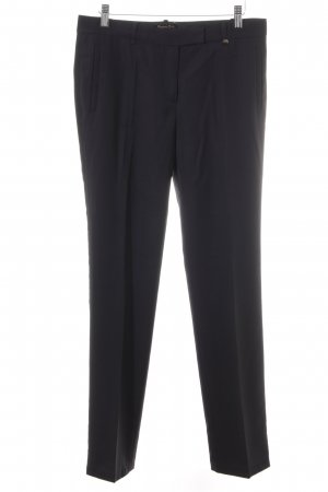 Massimo Dutti Pantalon de costume noir style d'affaires