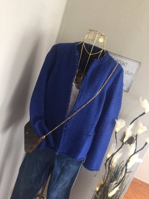 Massimo Dutti Balzer Jacke Boucle Chanelstyle Gr. 42