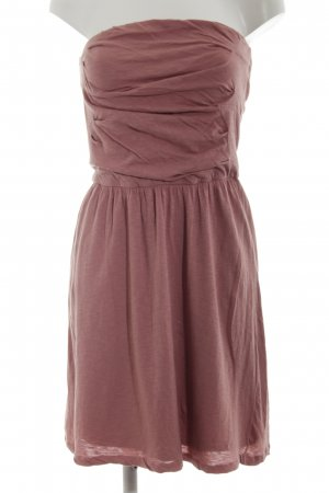 Massimo Dutti Bandeau Dress pink casual look
