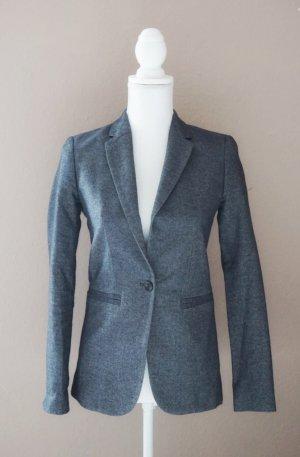Massimo Dutti Blazer Denim Look blau XS 34