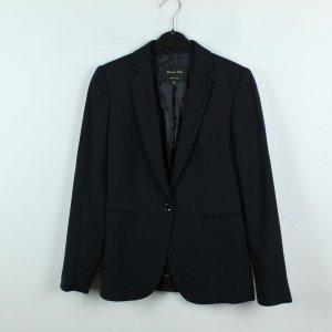 Massimo Dutti Veste de smoking noir tissu mixte