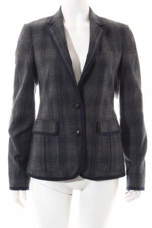 Massimo Dutti Blazer grau-blau Karomuster Business-Look