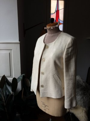 Massimo Dutti, Blazer, kastenförmig, edel, feine Details, Gr. 38 wie neu
