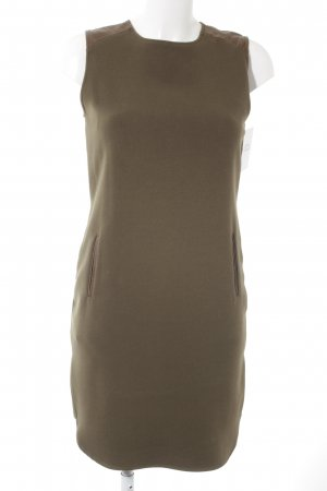 Massimo Dutti Bleistiftkleid khaki Business-Look
