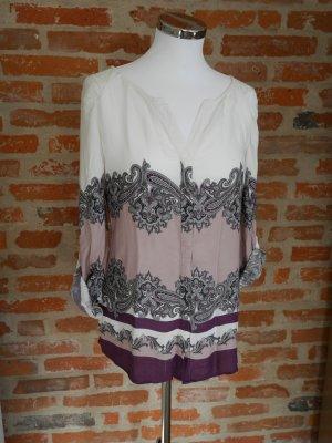Massimo Dutti Oversized blouse veelkleurig