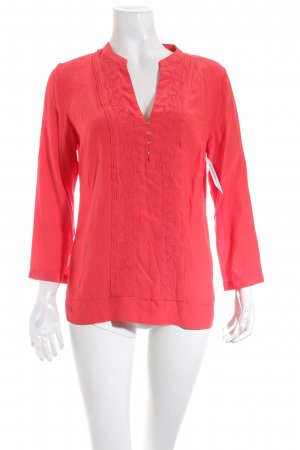 Massimo Dutti Bluse rot Casual-Look