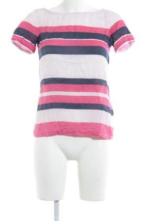 Massimo Dutti Inserción de blusa estampado a rayas look casual