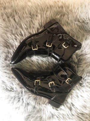Massimo Dutti Ankle Boots black