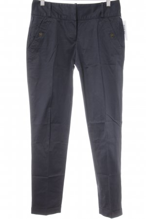 Massimo Dutti Pleated Trousers dark blue casual look