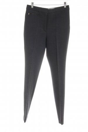 Massimo Dutti Bundfaltenhose dunkelgrau Business-Look