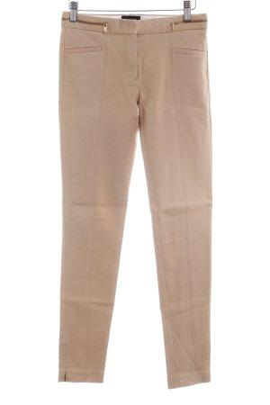 Massimo Dutti Pantalon à pinces marron clair style d'affaires