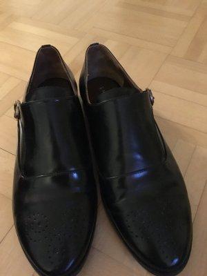 Massimo Dutti Business Schuh schwarz Gr. 37