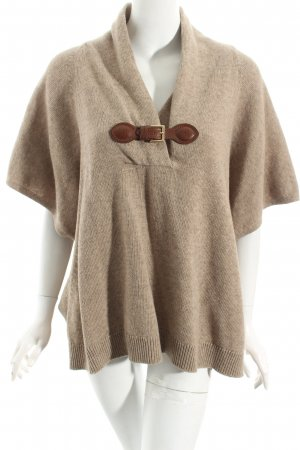 Massimo Dutti Cape grey brown retro look