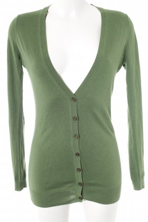 Massimo Dutti Cardigan grün Casual-Look