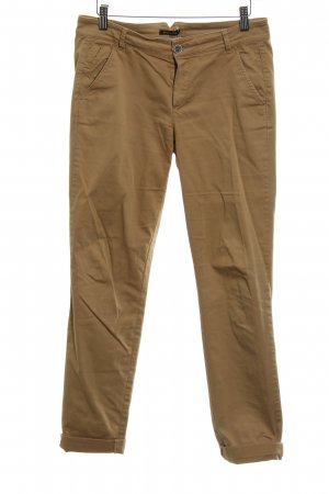 Massimo Dutti Chinohose beige-camel Casual-Look
