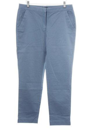 Massimo Dutti Chinohose blau Casual-Look