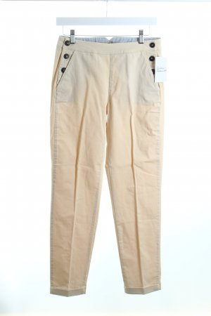Massimo Dutti Chinohose hellbeige Casual-Look