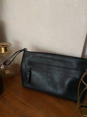 Massimo Dutti, Clutch, Handtasche, butterweiches und dennoch robustes Leder, neu