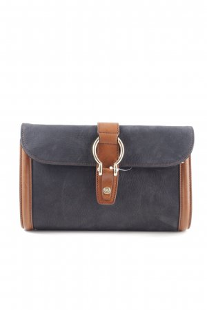 Massimo Dutti Clutch black-brown business style