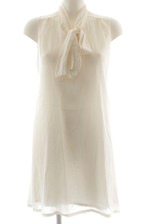 Massimo Dutti Cocktailkleid wollweiß-weiß Elegant