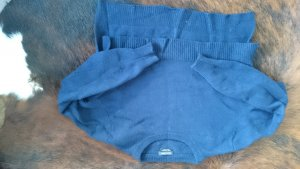 Massimo Dutti Crop Pullover blau Cashmere S