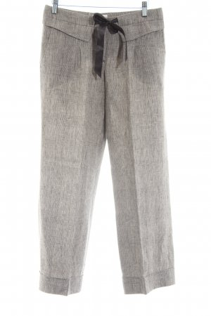 Massimo Dutti Culottes light grey check pattern casual look