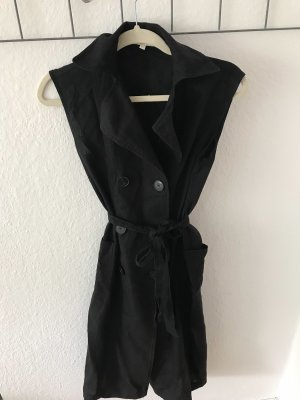 Massimo Dutti Robe manteau noir