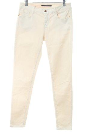 Massimo Dutti Five-Pocket-Hose creme Casual-Look