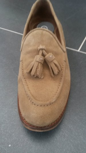 Massimo Dutti Slippers light brown
