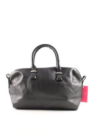Massimo Dutti Handtasche schwarz Business-Look