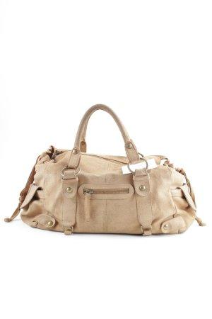 Massimo Dutti Handtasche camel schlichter Stil