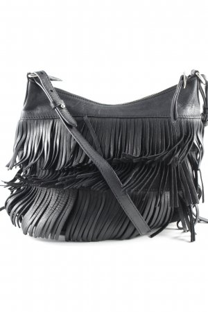 Massimo Dutti Carry Bag black Boho look
