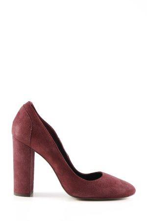 Massimo Dutti High Heels rot Business-Look