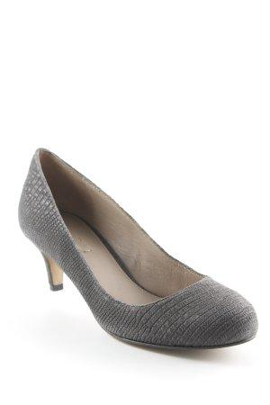 Massimo Dutti High Heels dunkelgrau schlichter Stil