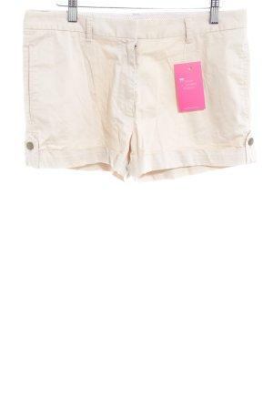 Massimo Dutti Short taille haute beige clair style décontracté
