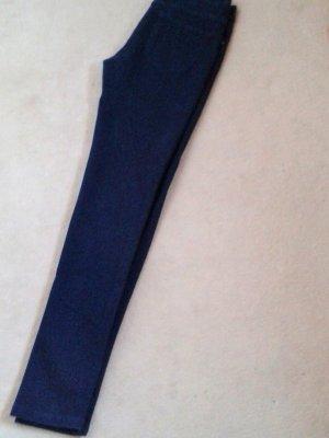 Massimo Dutti Hose dunkelblau, neu