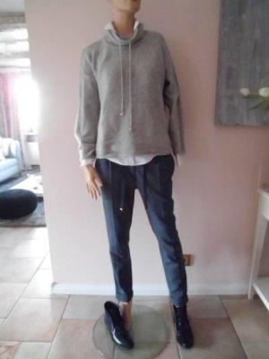 Massimo Dutti Hose Lana Wool, Maulbeerseide 36/38 blau Jogstyle