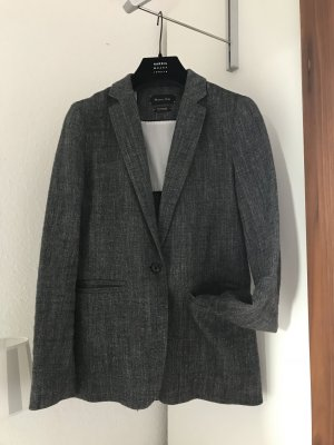 Massimo Dutti Wool Blazer multicolored
