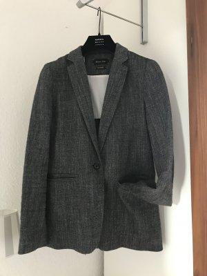 Massimo Dutti Jacket Blazer grau schwarz wNeu Gr.36/38 Jacke 199€ Gr.36 S Pepita