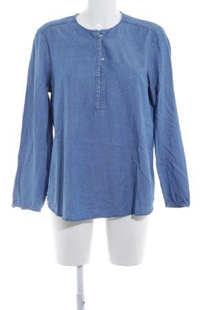Massimo Dutti Jeansbluse himmelblau Casual-Look