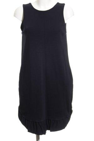 Massimo Dutti Jerseykleid dunkelblau Casual-Look