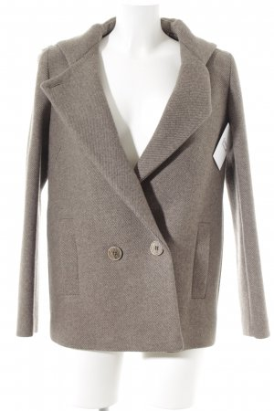 Massimo Dutti Hooded Coat light brown-brown casual look