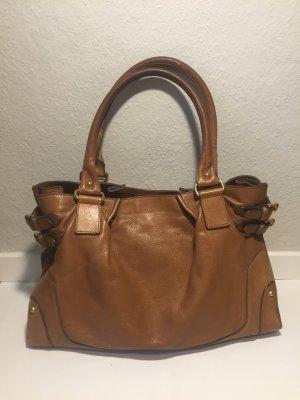 Massimo Dutti klassische Leder-Handtasche