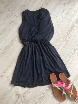 Massimo Dutti Kleid Gr. S blau